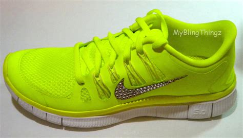 neon shoes clearance bling nike free run 5 0 shoes neon yellow