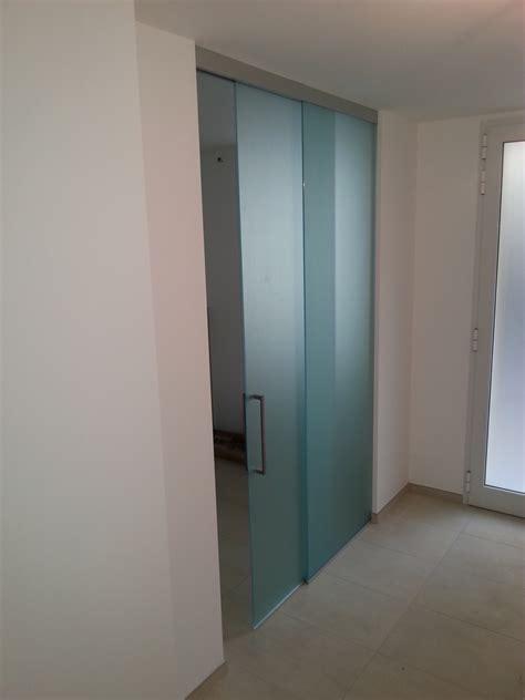 porta scorrevole usata vetreria f e l c e a vetrate specchi e cristalli novara