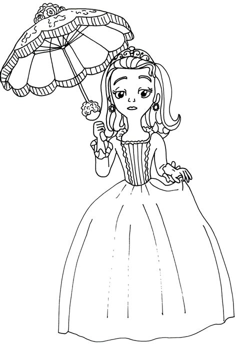 sofia the first coloring pages amber coloring page 8705