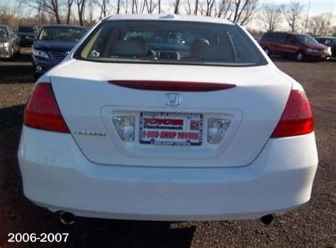 2007 honda accord tail light image gallery 2007 accord rear