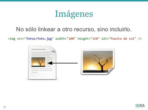 linkear imagenes html maquetado con html y css