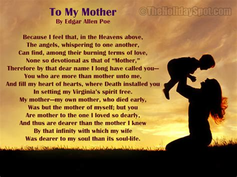 Poems And Poetries On Mother S Day