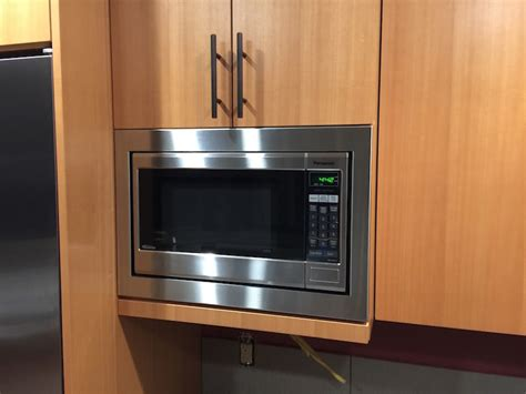 microwaves that can be mounted cabinets is there a microwave trim kit that you can flush mount to