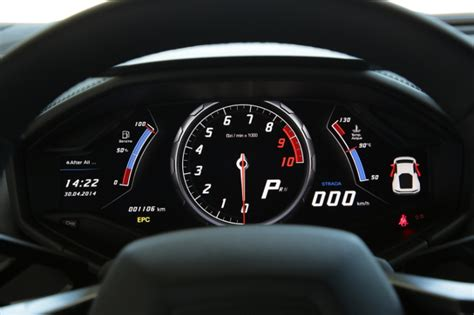 lamborghini huracan speedometer lamborghini hurac 225 n blends supercar brawn with a