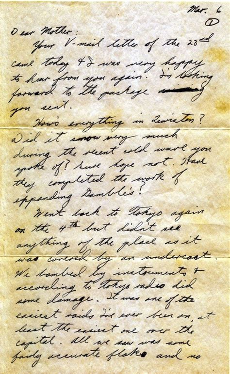 last homage to a s letters to his in sunset years books last letter mailed home 06 march 1945 tribute to