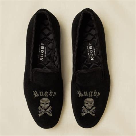 ralph rugby slippers rugby ralph skull bone velvet slippers