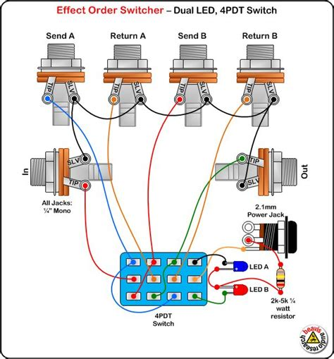 Diy L Wiring 19 best images about diy pedals on to be electronics and originals