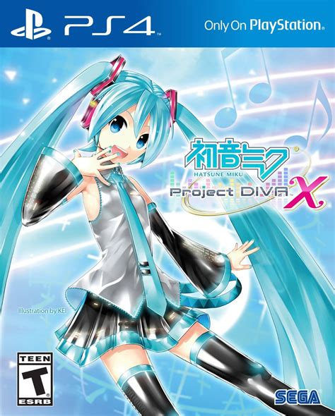 hatsune miku project x ps4 home