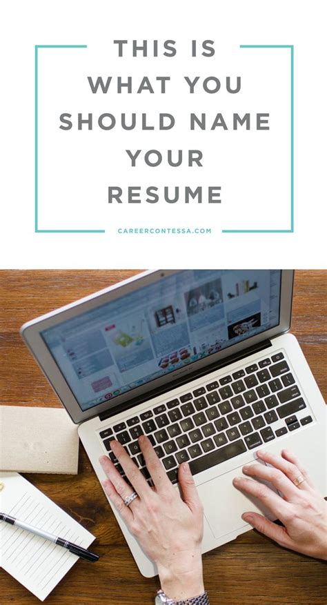 what should you name your cover letter 19 best resume exles images on resume tips