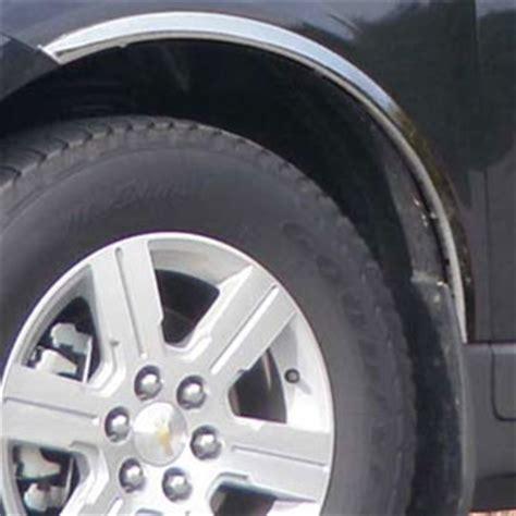 Chevrolet Traverse Chrome Wheel Well Fender Trim, 2009