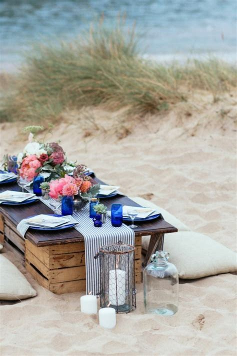 blaue tischdeko tischdeko in blau faszinierende ideen