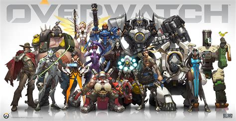 Poster Overwatch 11 overwatch available for pre purchase gamingshogun