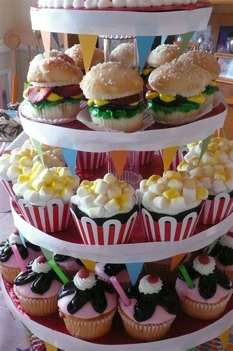 carnival themed food madelyn turns 9 birthday party ideas photo 19 of 26
