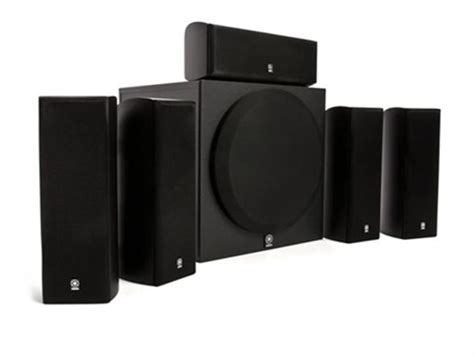 yamaha  home theater speaker system  powered subwoofer