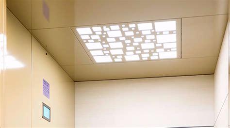 illuminazione controsoffitto illuminazione cabina per ascensore a pavimenti a