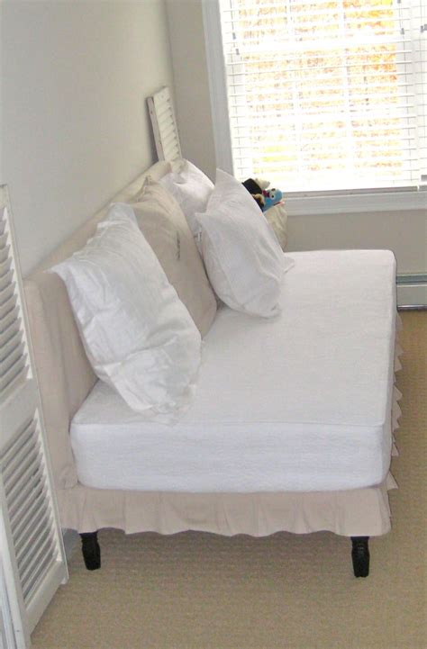 diy sofa twin mattress 20 best for using crib mattresses images on pinterest
