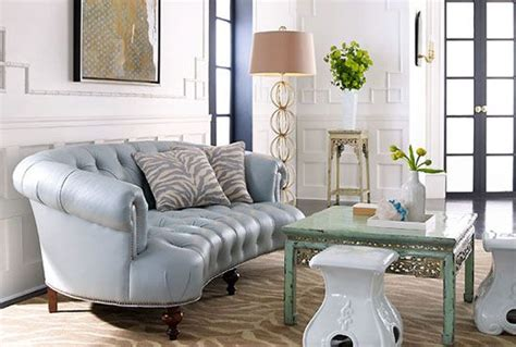 Baby Blue Leather Sofa baby blue tufted leather sofa living