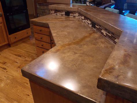 Concrete Overlay Countertops - concrete overlay tile countertops tile design ideas