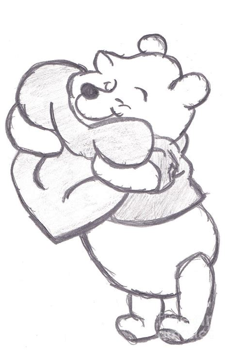 draw pooh bear
