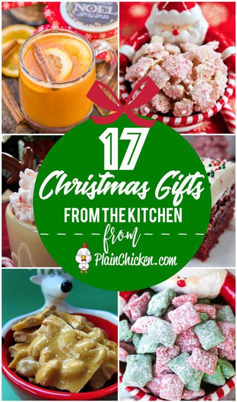 17 christmas gifts from the kitchen plain chicken