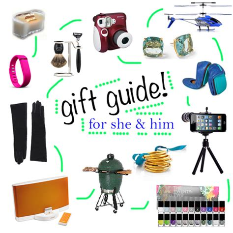 2013 holiday gift guide his and hers