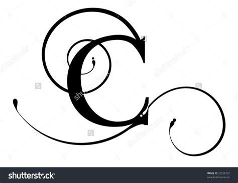 c com 140 the letter c clipart