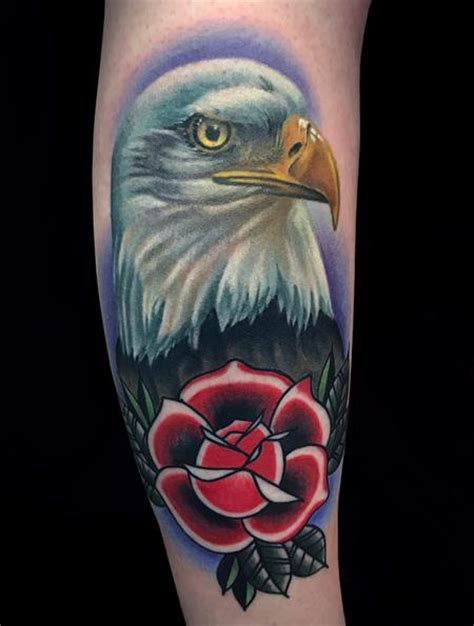 eagle rose tattoo rebel muse