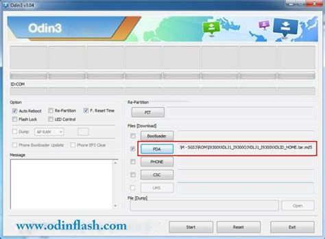 tutorial flash via odin samsung odin download flashing tutorial odin download