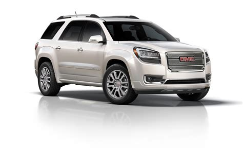 2016 gmc acadia introduced with onstar 4g lte autoevolution
