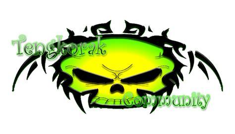 logo tengkorak gambar logo