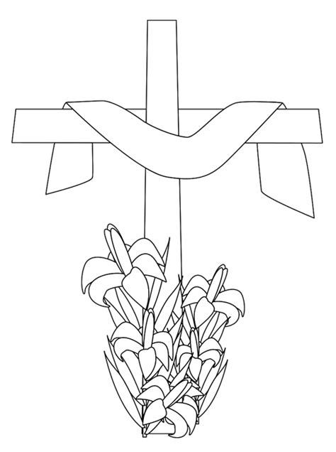 free coloring pages of john 3 16 cross