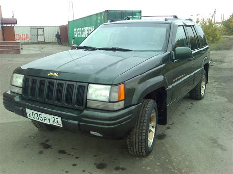 Jeep Grand Wheelbase Jeep Grand 4 0 1997 Technical Specifications