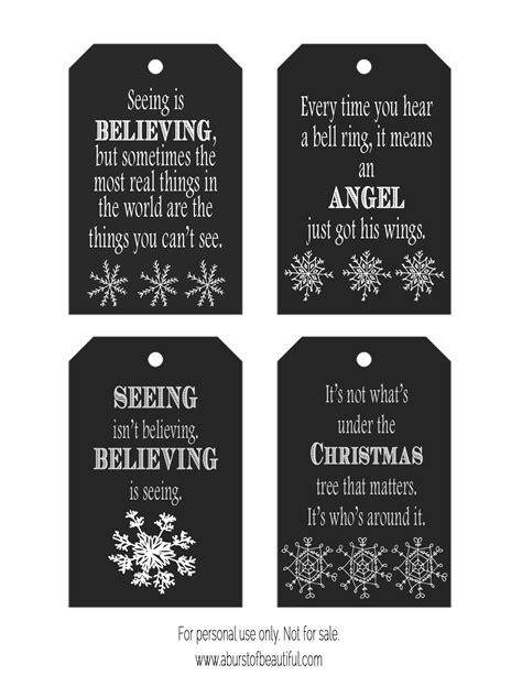 free printable chalkboard christmas gift tags chalkboard christmas tags free printable a burst of