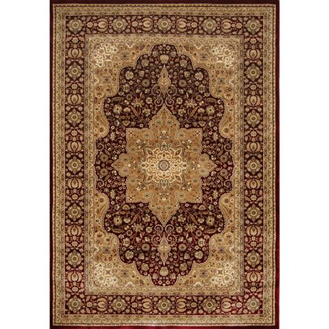Home Dynamix Triumph Burgundy 7 Ft 9 In X 10 Ft 2 In 7 X 10 Area Rugs