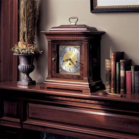 Design Ideas For Howard Miller Mantel Clocks Howard Miller Topion Key Wound Mantel Clock 612436
