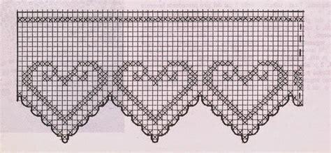 schemi bordi uncinetto per tende lo spazio di lilla a gentile richiesta i bordi all
