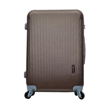 Koper Kabin 20 Inch Preloved jual polo team 030 hardcase kabin koper cokelat 20 inch harga kualitas terjamin