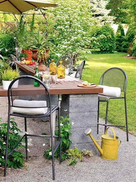 diy backyard bar diy outdoor bar furniture diy craft projects