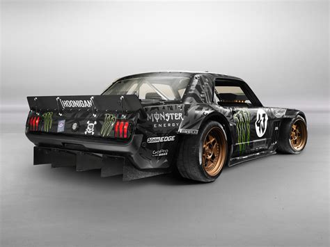 hoonigan mustang ken block unveils the exclusive hoonigan ford mustang rtr