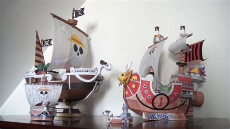 Papercraft Going Merry - assemblage vogue merry v2 one papercraft by