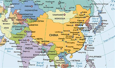 asia map with country names hd asia map with country names hd 28 images political map