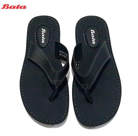 Sepatu Sandal Pria Bahan Leather Hitam Uk 38 43 040 Ay jual bata summer 6810 sandal jepit pria hitam