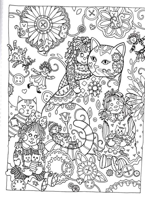 creative coloring pages creative creative cats dover publications coloring