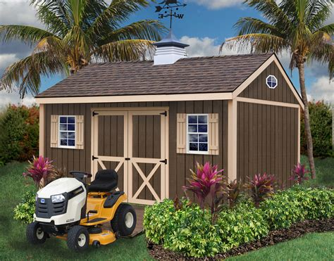 Wooden Storage Shed Kits by Brookfield 1200x940