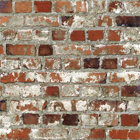 rustic red loft brick wall effect feature wallpaper by muriva 102538 ebay