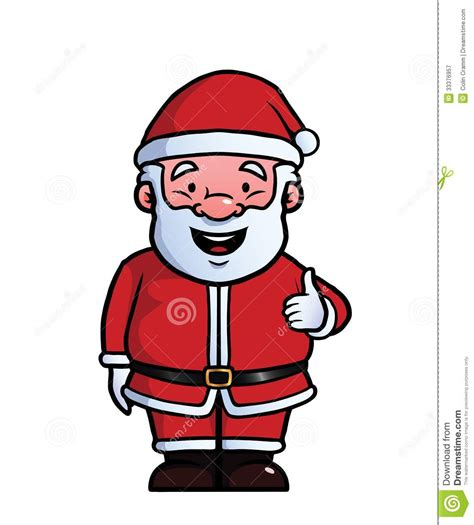 santa claus thumbs up santa claus giving thumbs up stock vector illustration of 33376957