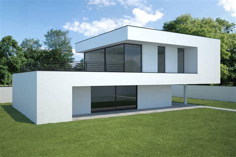 modern haus bauhaus architektur 2p raum de