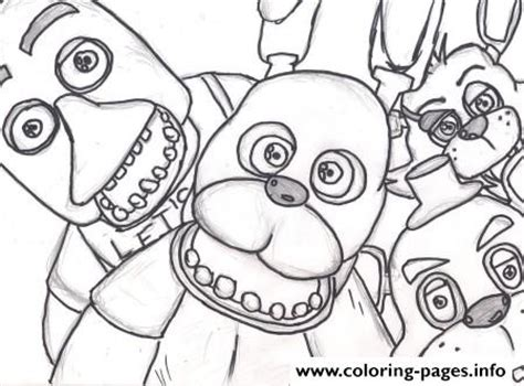 five nights at freddy s coloring book and puzzle for coloring activities book book puzzle books family five nights at freddys fnaf 2 coloring pages printable