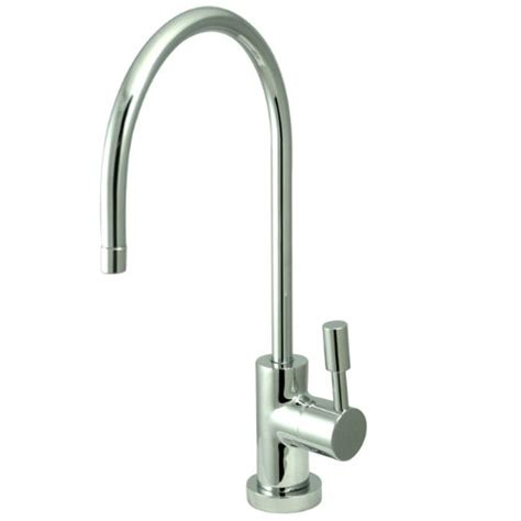 Cold Water Filter Faucet by Polished Brass Gourmetier Cold Water Filtration Faucet