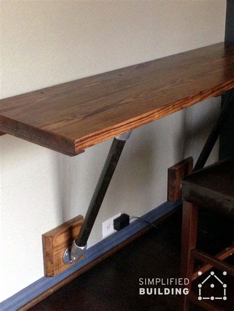 great desks for small spaces wall mounted desks great for small spaces pipe desks
